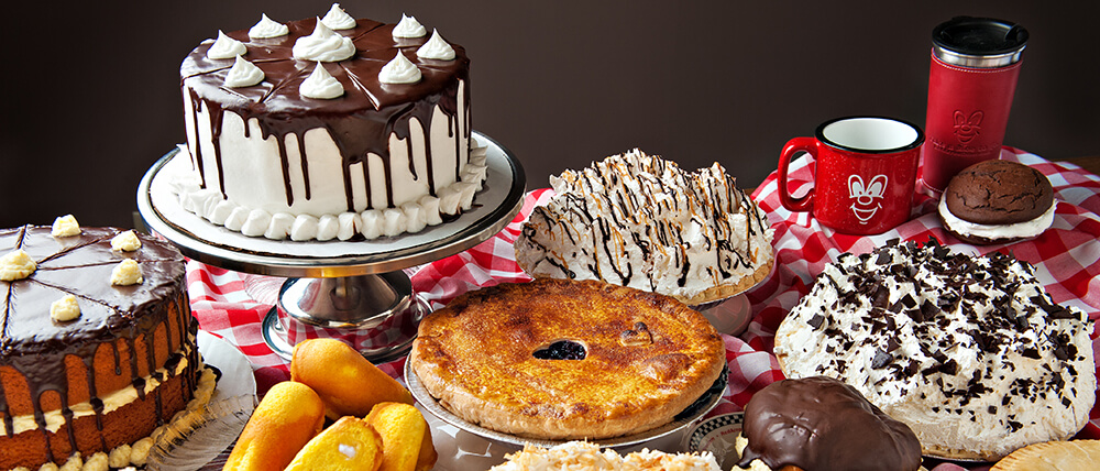 Order Our Famous Pies and Cakes Online