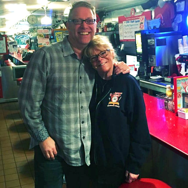 Red Arrow Diner Manchester Bill Fox and Penny Koski