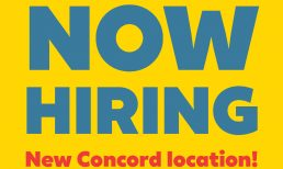 Now Hiring, Red Arrow Diner, Concord Location