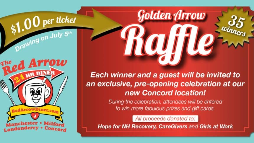 Red Arrow Golden Arrow Raffle