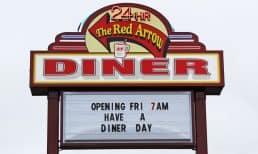94.9 WHOM Sneak Peek of the Red Arrow Diner Concord