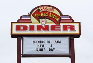 Red Arrow Diner Concord Location
