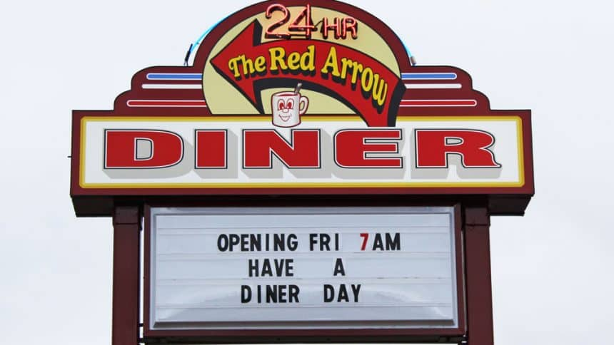 Red Arrow Diner Concord Location