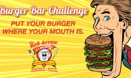 Enter the Red Arrow Diner Burger Bar Challenge