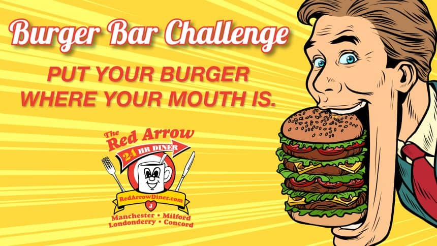 Burger Bar Challenge FEATURED Image