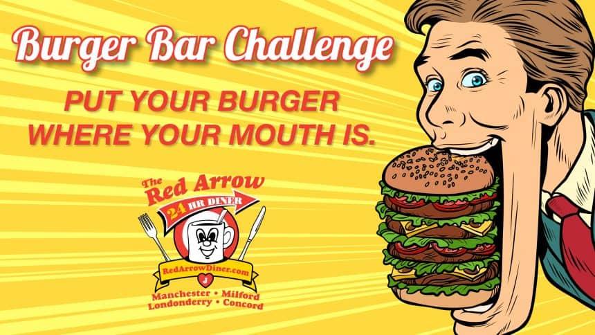 Burger Bar Challenge FEATURED Image