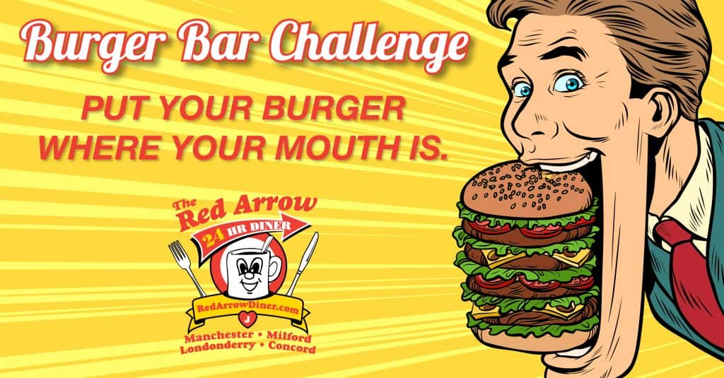 Red Arrow Diner Burger Bar Challenge