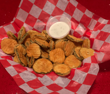 Red Arrow Diner fried pickles
