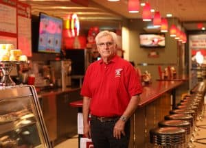 George Lawrence, Red Arrow Diner Vice President