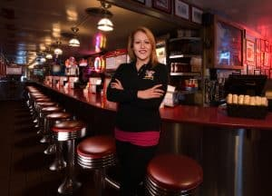 Jamie Lemay, Red Arrow Diner District Manager