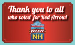 Red Arrow Diner Named to the 2018 Best of NH List in Six Categories