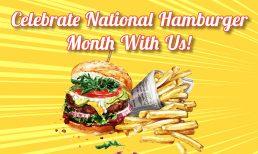 Celebrate National Hamburger Month at Red Arrow Diner!