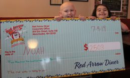 Red Arrow Diner Presents Mac‐and‐Cheese Proceeds from All Four Locations to Team Noah