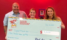 Red Arrow Diner Presents Proceeds for The Beat Goes On Fundraiser