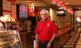 Red Arrow Diner's George Lawrence Presented with NHLRA Lifetime Achievement Award