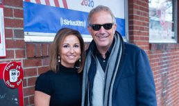 Kevin Costner Visits Red Arrow Diner During the NH primary