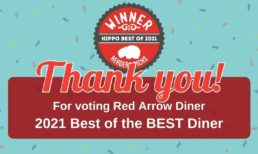 Red Arrow Diner receives The Best of Hippo 2021 Award!