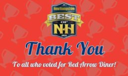 Red Arrow Diner Named as 2021 Best of NH in Six Categories