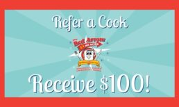 Refer a Cook, Receive $100!